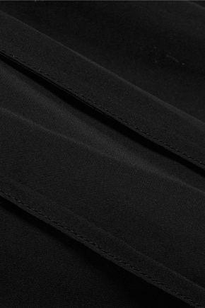 J BRAND Palerma off-the-shoulder silk top