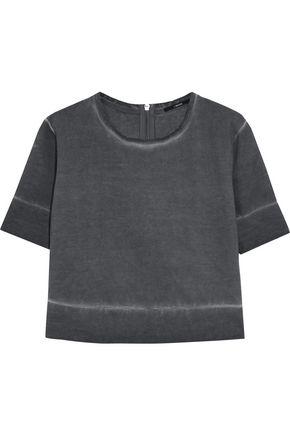 J BRAND Sanora cropped dégradé cotton sweatshirt