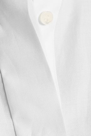 VALENTINO Cotton-poplin shirt