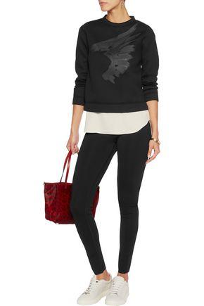 VALENTINO Printed stretch-modal sweater