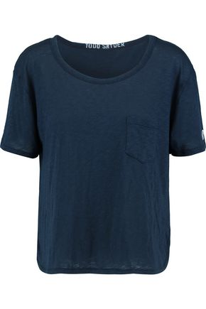 TODD SNYDER + CHAMPION Cotton and modal-blend T-shirt