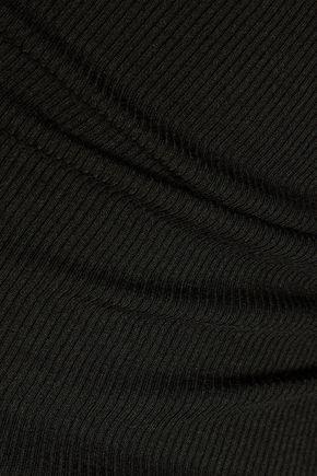 ENZA COSTA Ribbed-knit tank