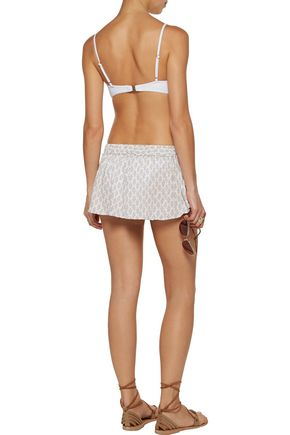 EBERJEY By The Sea Nicolette printed jersey shorts