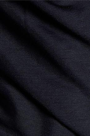 J BRAND Carondelet layered draped jersey tank