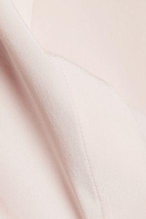MAISON MARGIELA Cutout silk top