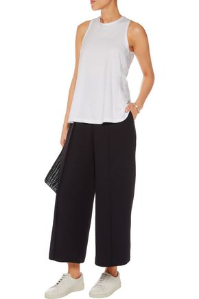 JAMES PERSE Open-back cotton-jersey top