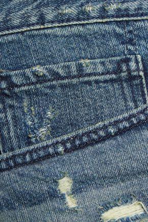 3x1 WM5 frayed denim shorts