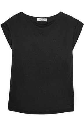 HALSTON HERITAGE Modal and georgette top
