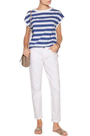 M.I.H JEANS Striped cotton T-shirt