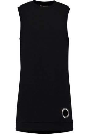 T by ALEXANDER WANG Eyelet-embellished cotton-blend tunic