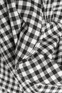 MARISSA WEBB Effy cutout gathered gingham twill blouse