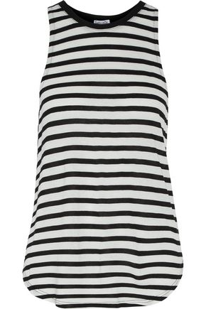 SPLENDID Striped jersey tank