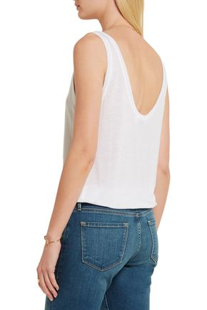 BY FRAME Le Slouchy Tencel tank