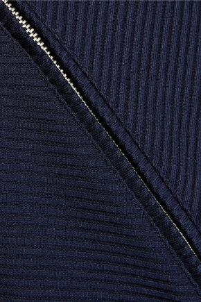 MAJE Ribbed jersey vest