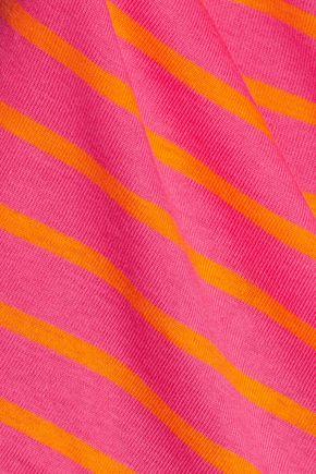 PETIT BATEAU Striped cotton-jersey top