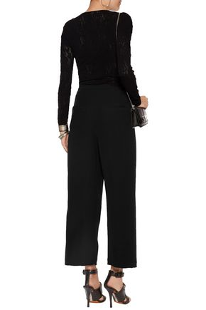 McQ Alexander McQueen Stretch-knit top