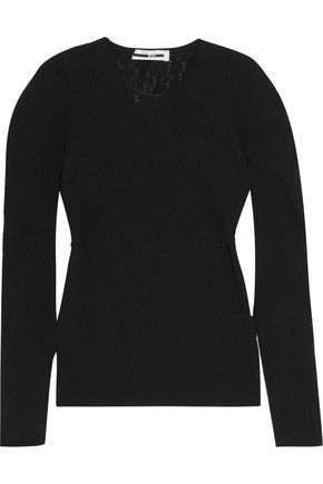 McQ Alexander McQueen Stretch-knit top