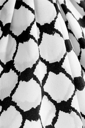 DODO BAR OR Tasseled silk crepe de chine top