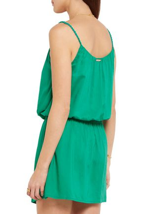 HEIDI KLEIN Key West voile mini dress