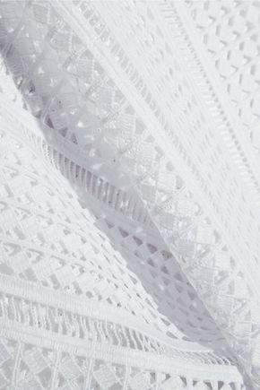 MIKOH Ko Samui crocheted lace coverup