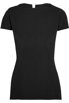RICK OWENS Stretch cotton-blend top
