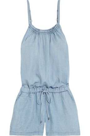 SPLENDID Tencel-chambray playsuit