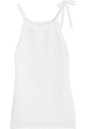 RAG & BONE Willa knitted cotton top