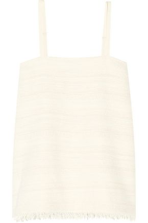 HATCH The Nilli cotton-blend tweed camisole