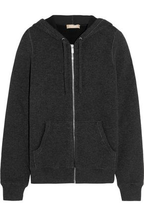 MICHAEL KORS COLLECTION Cashmere-blend hooded top