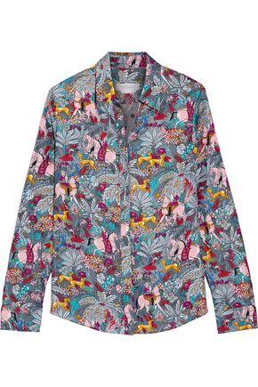 GABRIELA HEARST Henri printed silk-twill shirt