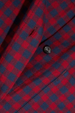 MADEWELL Shrunken Ex-Boyfriend checked cotton shirt