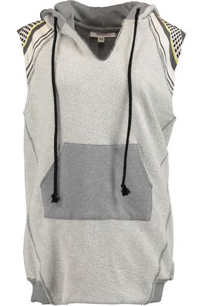 MASTER&MUSE x LEMLEM Meron cotton-jacquard hooded top