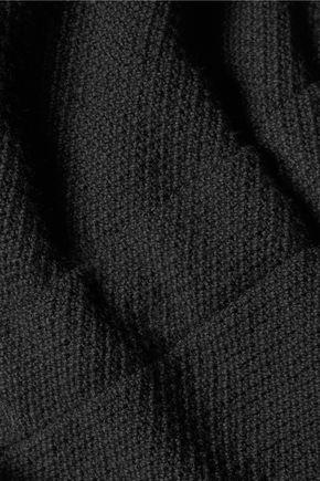 SOLID & STRIPED Cotton-blend bouclé playsuit