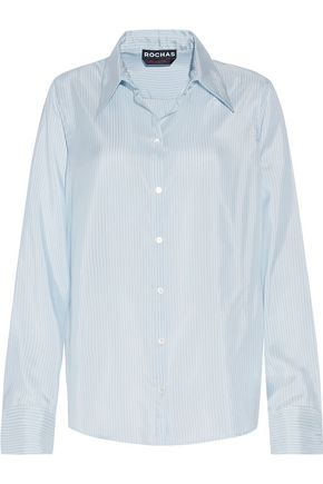 ROCHAS Striped silk shirt