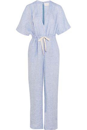 SOLID & STRIPED The Cape linen jumpsuit