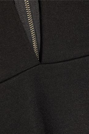 MICHELLE MASON Cutout stretch-ponte bodysuit