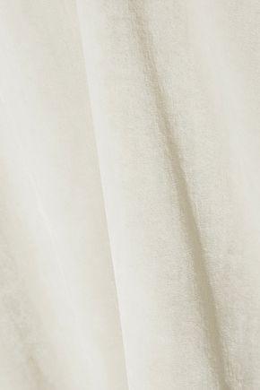 RICK OWENS Oversized velvet tunic