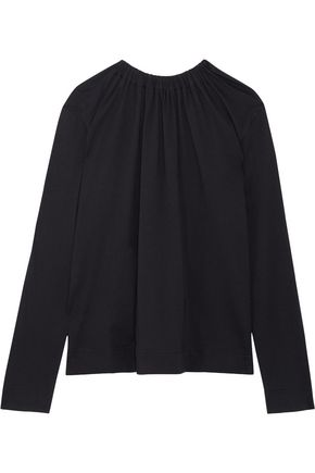 MARNI Open-back cotton-jersey top