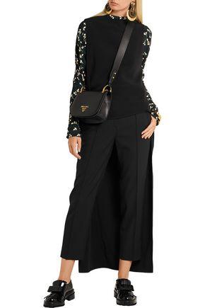MARNI Stretch-crepe tunic