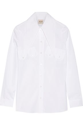 TOD'S Cotton-poplin shirt