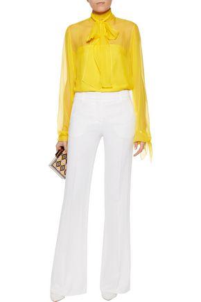 EMILIO PUCCI Silk-chiffon blouse