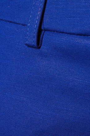 EMILIO PUCCI Cotton-blend twill shorts