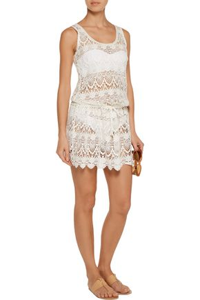 MELISSA ODABASH Alison cotton-lace coverup