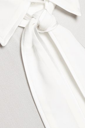ALICE + OLIVIA Cora silk-blend blouse