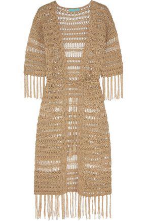 MELISSA ODABASH Naomi crocheted robe