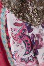 HAUTE HIPPIE Marisa embellished printed silk crepe de chine top