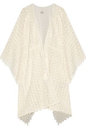 TALITHA Chaya crocheted cotton coverup