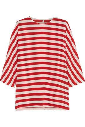 DOLCE & GABBANA Striped silk blouse