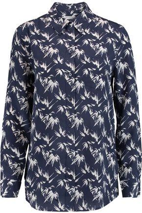 EQUIPMENT Reese printed washed-silk shirt