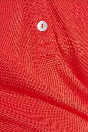 TOTÊME Kensington stretch-piqué polo shirt